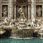 Fontana Di Trevi in front of Palazzo Poli - Roma - Italia