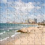 A nice shot of Tel Aviv Beach Front.